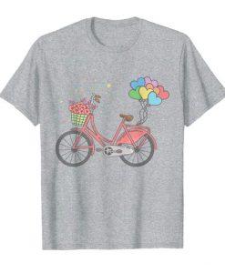 Womens Love Bicycle tshirt FD23J0