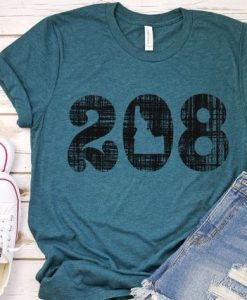 208 Idaho T-Shirt ND29F0