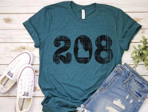 208 Idaho T-Shirt ND29F0