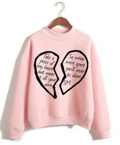 Broken sweatshirt FD4F0