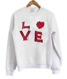 Buy Love Sweatshirt EL6F0