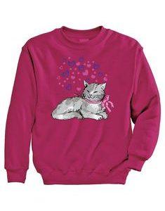 Heart Kitty Sweatshirt EL5F0