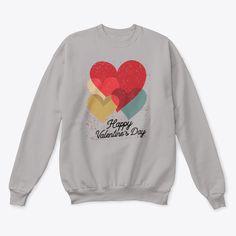 Vintage Hearts Sweatshirt EL5F0
