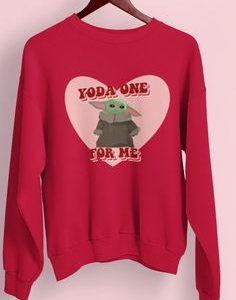 Yoda One For Me Sweatshirt EL5F0