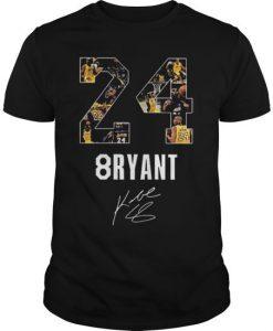 24 8ryant Kobe Bryant Tshirt YT18M0