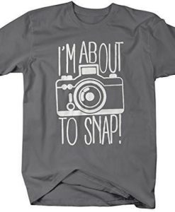About to Snap T Shirt SP26M0