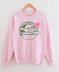 Baby Yoda Sweatshirt YT18M0