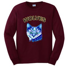 Wolves Cat Sweatshirt TU18JN0