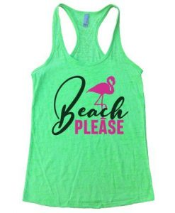 Beach Please Tanktop LE10AG0