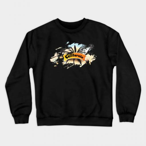 California beach Sweatshirt FD6N0