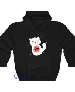 Get well soon with a cute character Hoodie EL23D0