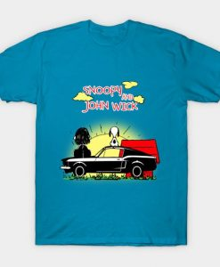 Wick and Snoopy T-Shirt DK2MA1